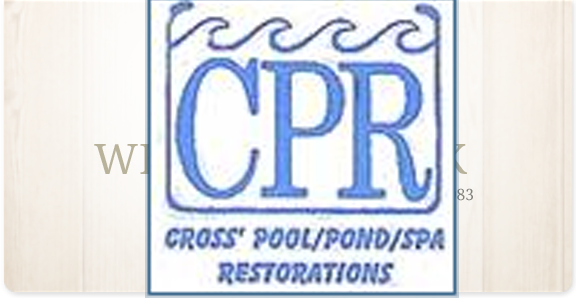 Cross Pool Restorations & Spa Services